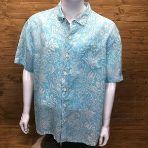 Tommy Bahama Short Sleeve Hawaiian Shirt XXL